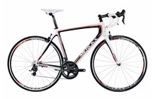 Eddy Merckx EMX-3 Ultegra 2/10 white/carbon